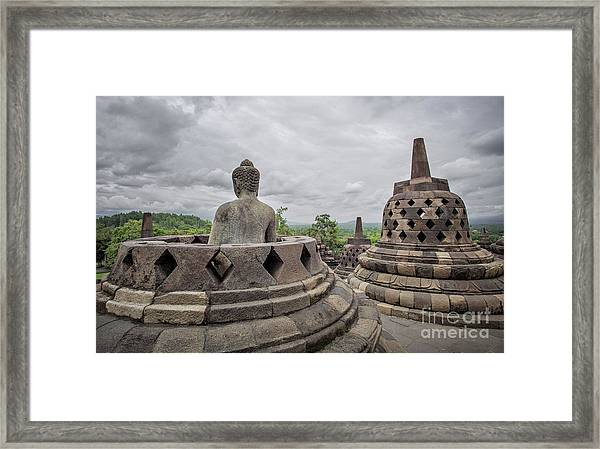 The Path Of The Buddha #5 Framed Print