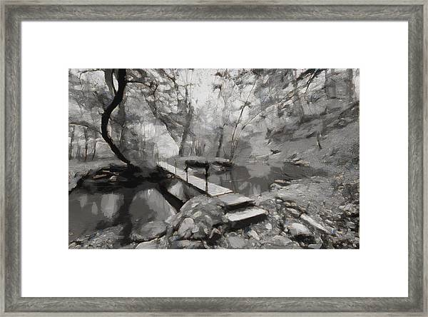 The Path To Nirvana Framed Print