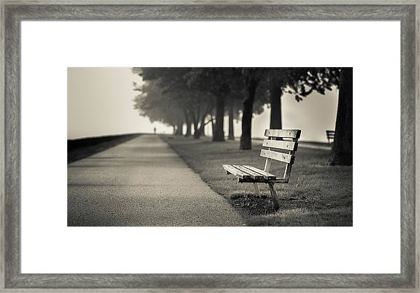 The Path To Rest Framed Print