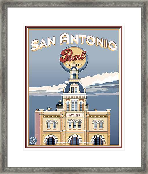 The Pearl Brewhouse Framed Print