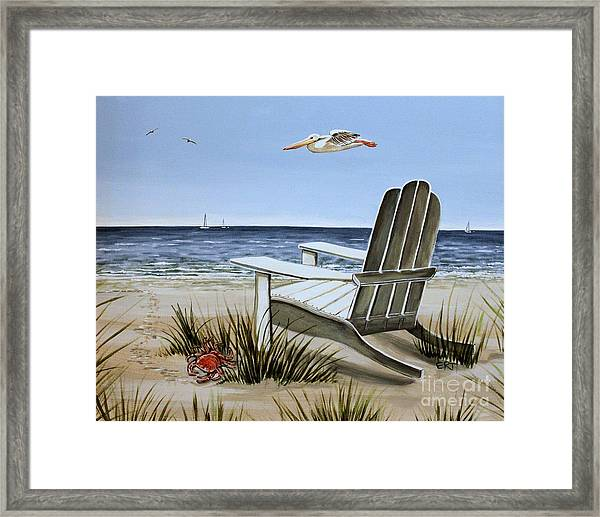 The Pelican Framed Print