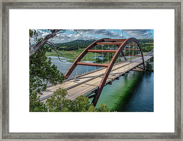 The Pennybacker Bridge Framed Print