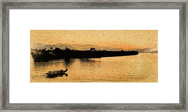 The Perfume River Framed Print