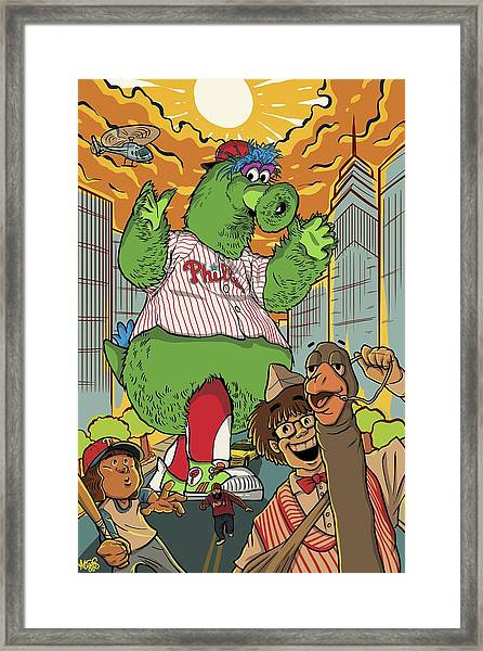The Pherocious Phanatic Framed Print
