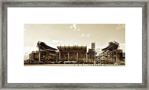 The Philadelphia Eagles - Lincoln Financial Field Framed Print