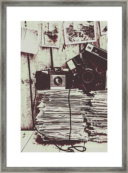 The Photo Room Framed Print