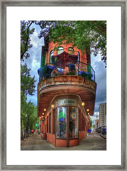 The Pickle Barrel Chattanooga Tn Art Framed Print