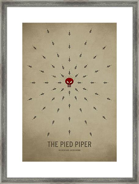 The Pied Piper Framed Print
