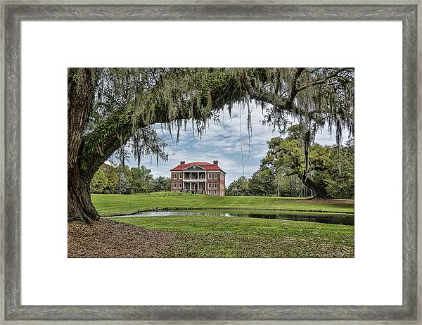 The Plantation Framed Print
