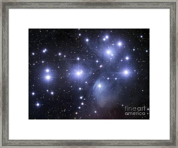 The Pleiades Framed Print