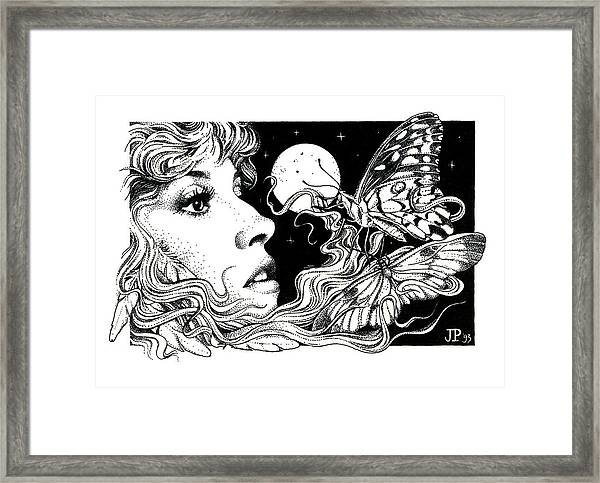 The Poet In My Heart Framed Print