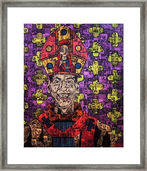 The Pope Of Trash Framed Print