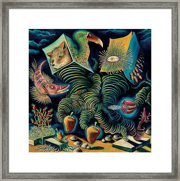The Pounder Painting Framed Print