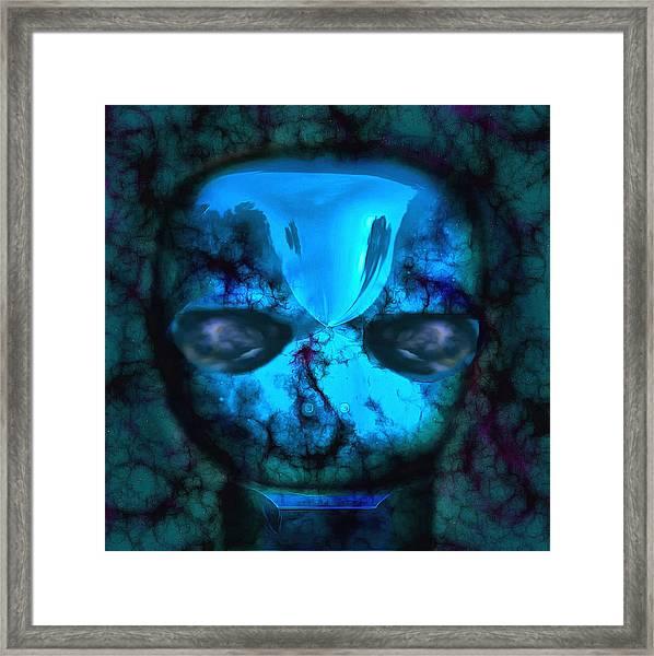 The Pukel Stone Face Framed Print