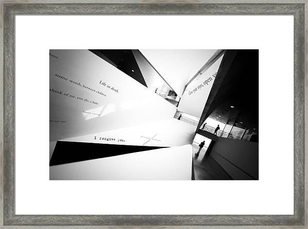 The Purgatory Framed Print