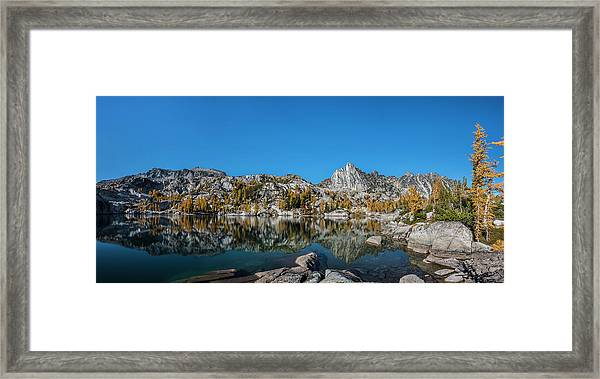 The Quiet Moment In Leprechaun Lake Framed Print