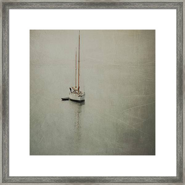 The Quiet Sea Framed Print
