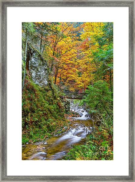 Cascades And Waterfalls Framed Print