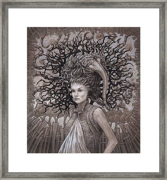 The Ravenous Pregnancy Framed Print by Ethan Harris
