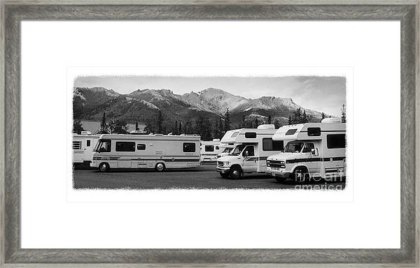 The Real Alaska - Rv Skyline Framed Print