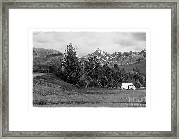 The Real Alaska -the Good Life Framed Print