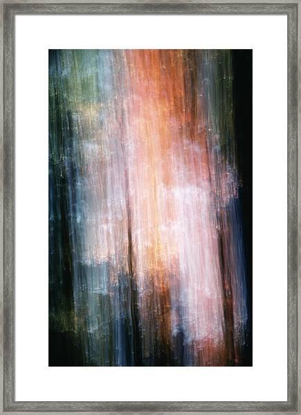 The Realm Of Light Framed Print