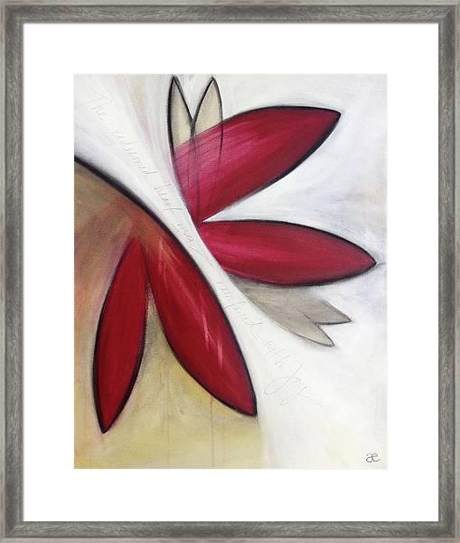 The Redeemed Heart Framed Print