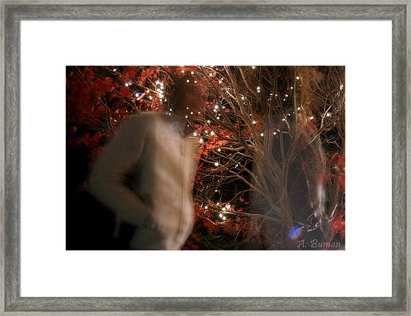 The Remains Of A Magical Memory Framed Print