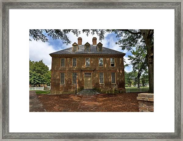 The Restored Brafferton Framed Print