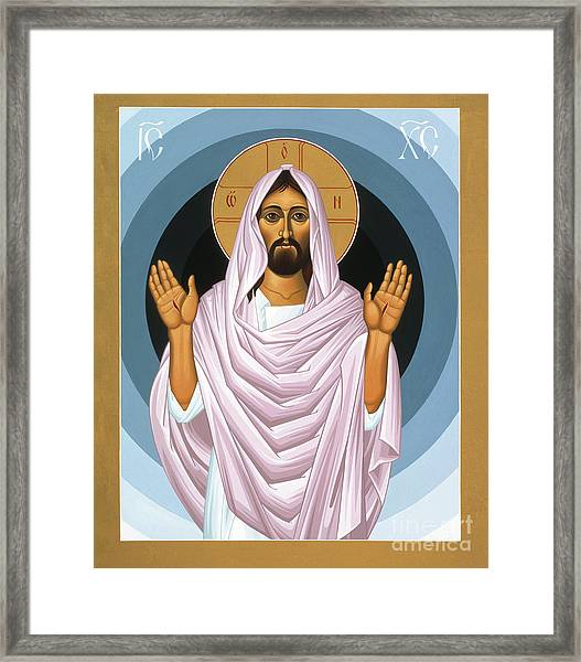The Risen Christ 014 Framed Print
