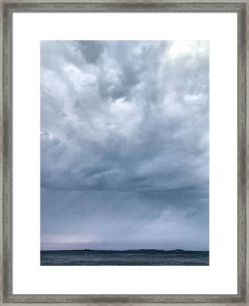 The Rising Storm Framed Print