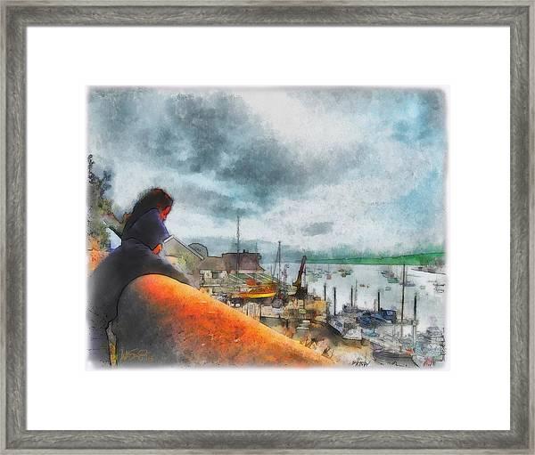 The River Exe Framed Print