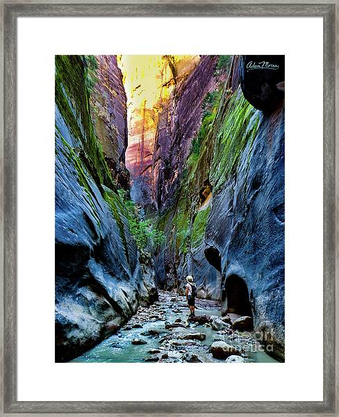 The Riverbend Framed Print