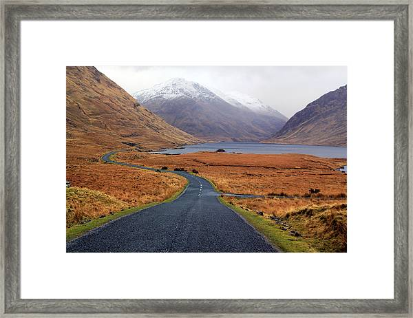 The Road In Framed Print