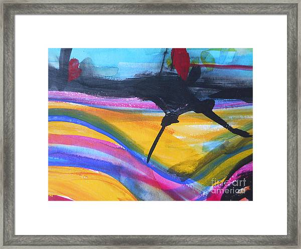 The Road Framed Print