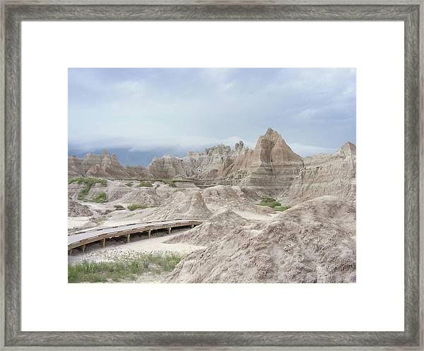 The Road To Nowhere Framed Print