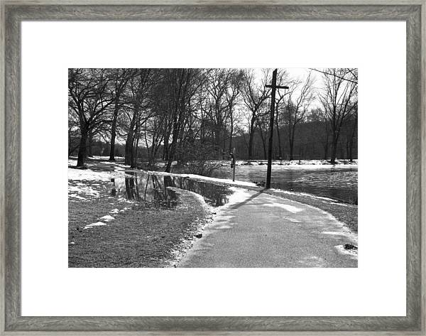The Road To Paradise Framed Print