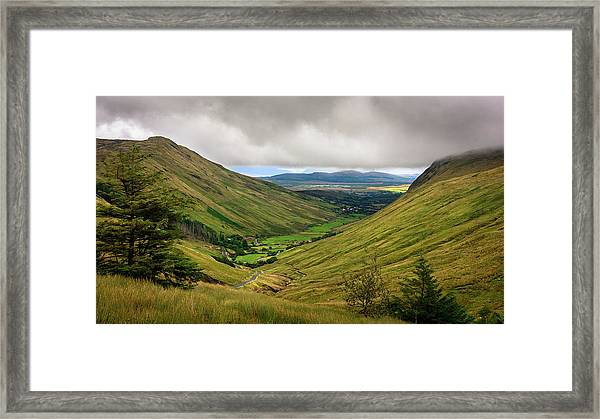 The Road To Slieve League Framed Print