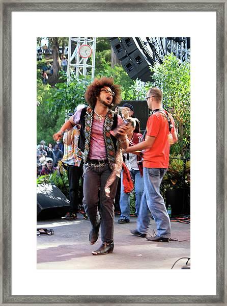 The Rock Strut Framed Print