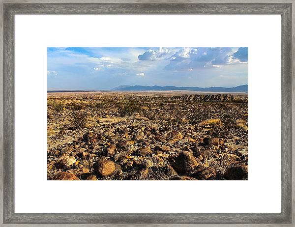 The Rocks Framed Print