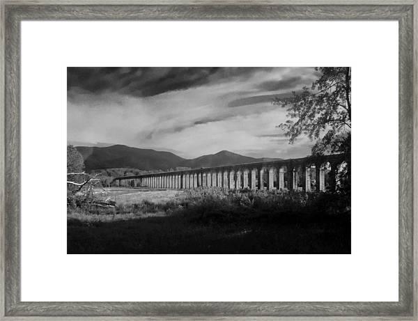 The Roman Aqueducts Framed Print