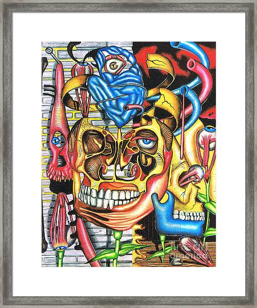 The Roots Of Human Evolution Framed Print