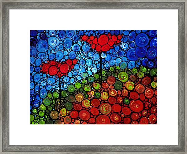 The Roots Of Love Run Deep Framed Print