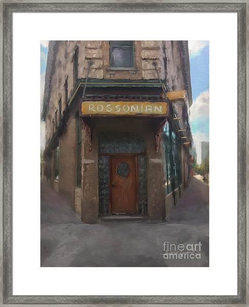 The Rossonian Framed Print