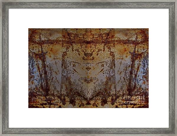 The Rusted Feline Framed Print