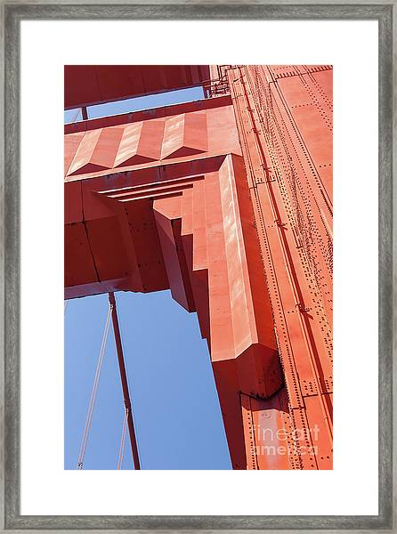 The San Francisco Golden Gate Bridge 5d3000 Framed Print