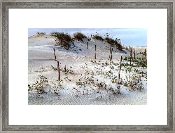 The Sands Of Obx Hdr II Framed Print