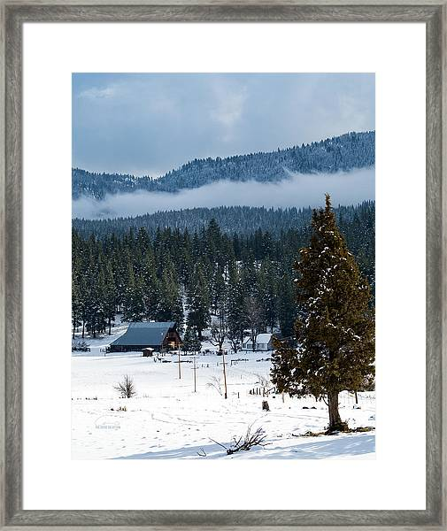 The Satica Ranch Framed Print by The Couso Collection