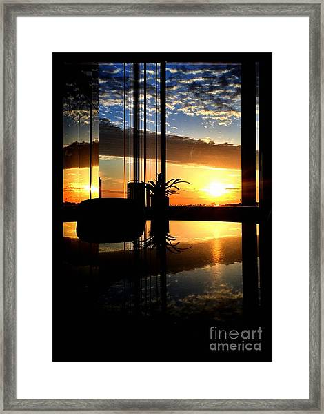The Scene From A Framed Print
