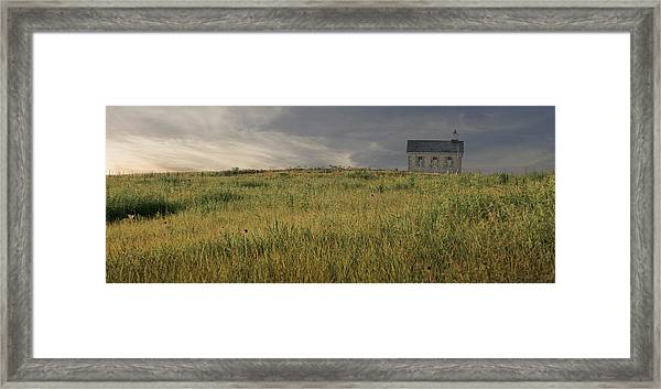 The Schoolhouse  Framed Print